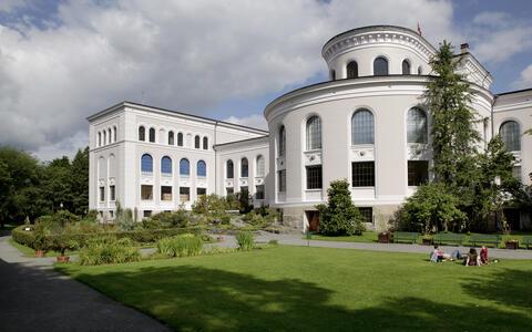 Baksiden av universitetsmuseet