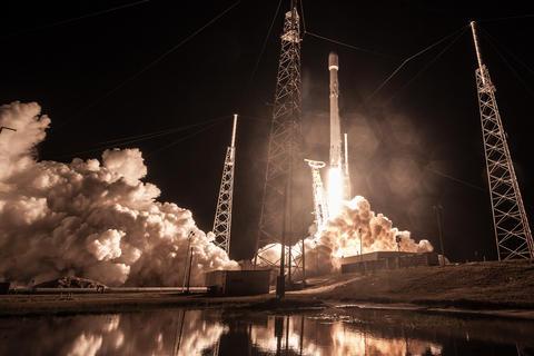 SpaceX Zuma-oppskytning