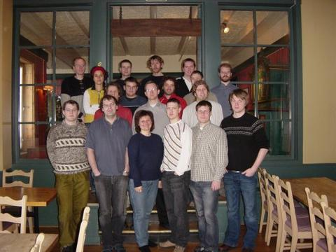Photo of the participants of the winter school.