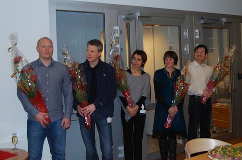Seks yngre forskere fra Det medisinsk-odontologiske fakultet fikk post...