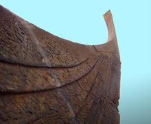 stavnen på gammelt vikingskip