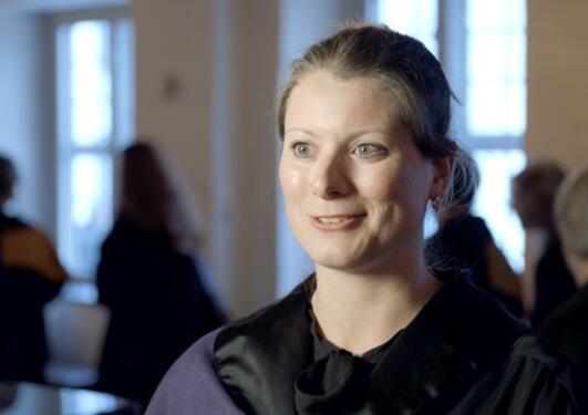 Doktorpromosjon, intervju,  SV, Iselin Strønen