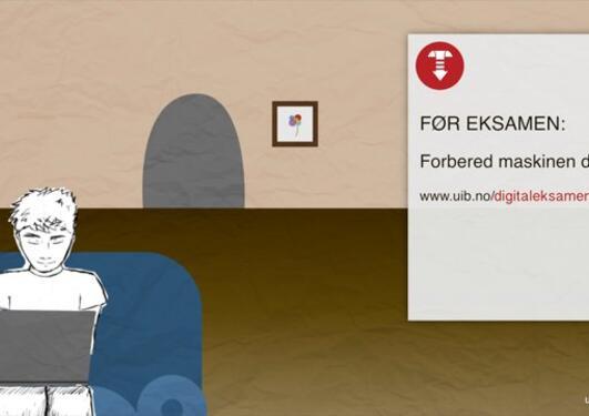 Digital eksamen - slik gjør du det