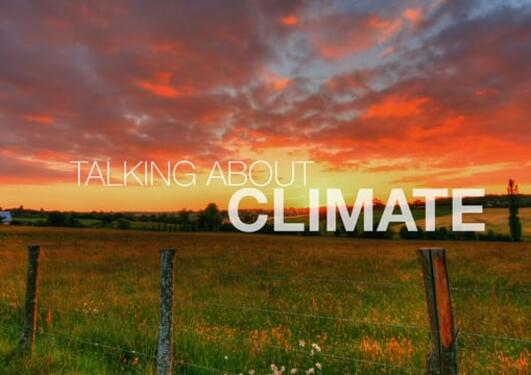 Talking about climate