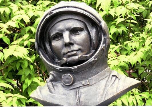 Gagarin-byste avduket