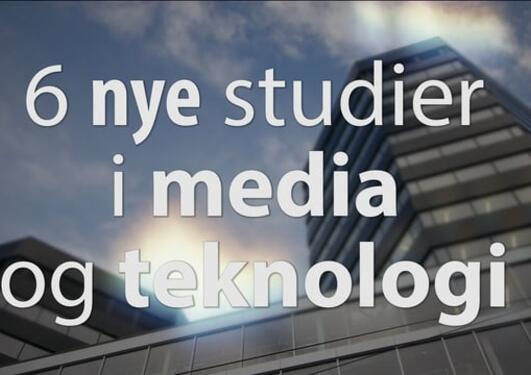 Nye studier i Media City Bergen