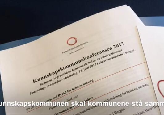 Kunnskapskommunekonferansen 2017