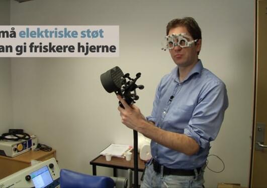 Små elektriske støt kan gi friskere hjerne