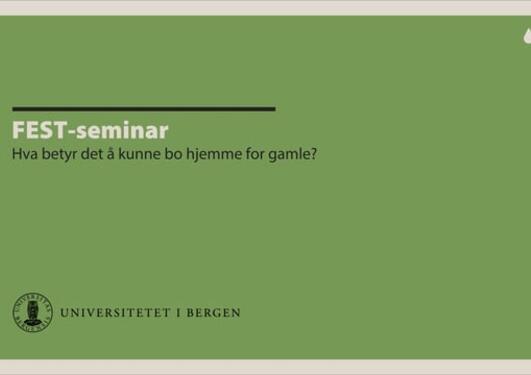 FEST-seminar 10.04.18
