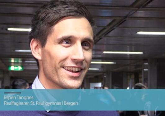 Tidligere lektorstudent Espen Tangnes