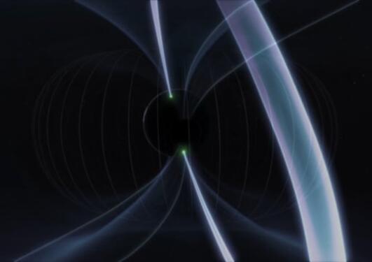 Understanding the asymmetric aurora