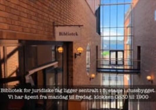 Bibliotek for juridiske fag på 100 sekunder