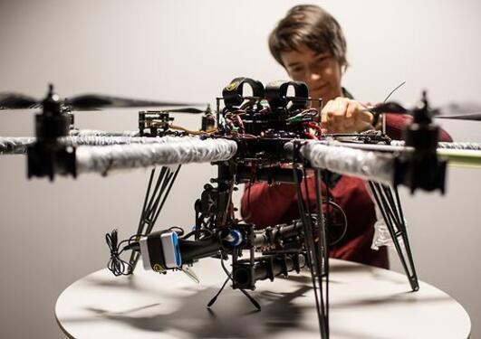 Dronejakt på olje
