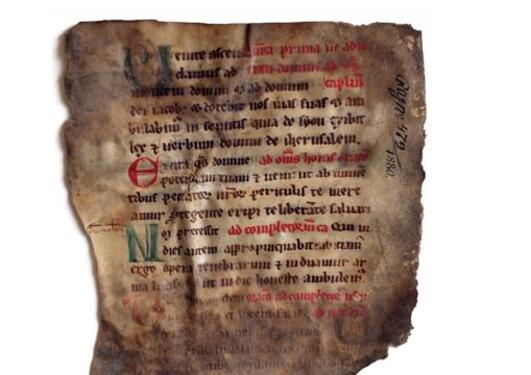 Close-ups: Manuscript fragments