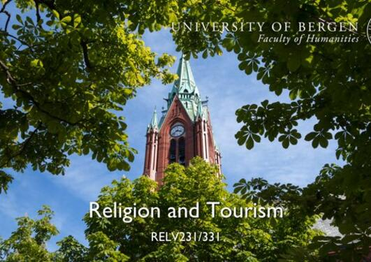 Introduction to Religion and Tourism