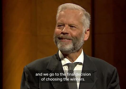 Abel Prize award ceremony 2021