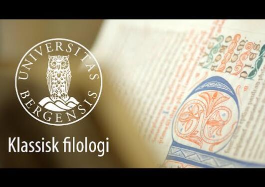 Studer klassisk filologi i Bergen