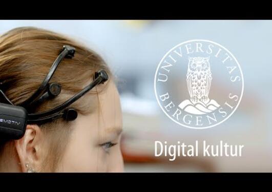 Studer digital kultur i Bergen