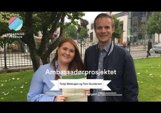 Utdanning i verden - Ambassadørprosjektet