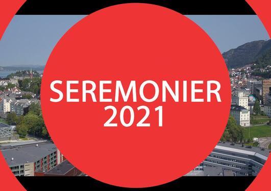 Digital bachelor- og masterseremoni 2021