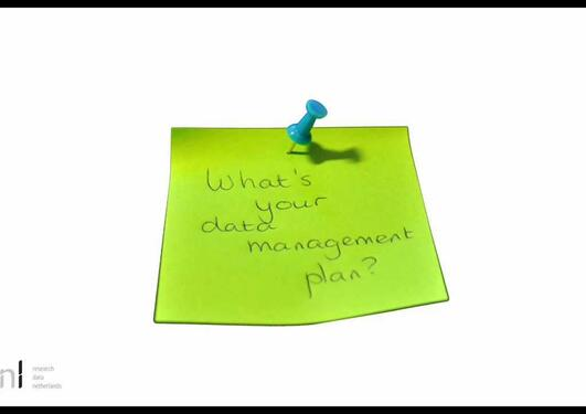 The what, why and how of data management planning