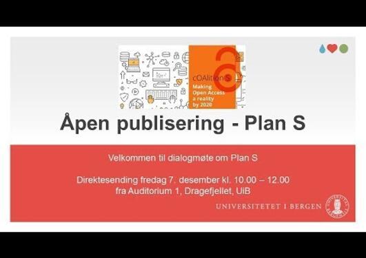 Åpen publisering - Plan S