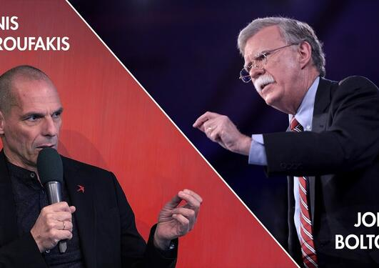 "The 2020 Holberg Debate with John Bolton & Yanis Varoufakis: ""Is Global Stability A Pipe Dream?"""