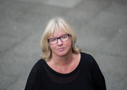 Bilde av tyskprofessor Sissel Lægreid