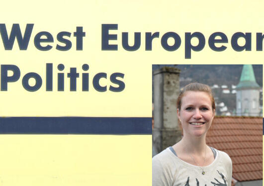 Peters awarded prize for article published in West European Politics
