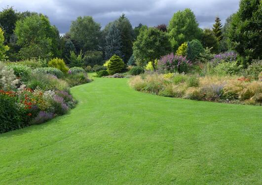 The Bressingham Gardens ligger i Øst-England.