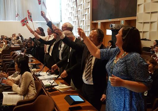 Norway was appointed its first biosphere reserve - Nordhordland Biosphere - on June 19th at UNESCO's headquarters in Paris