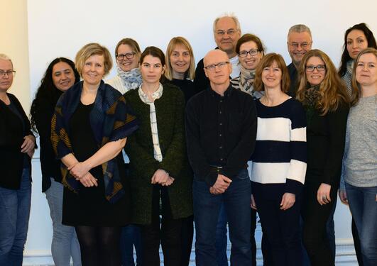 Staff from international center