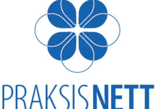 Her vises logoen til PraksisNett