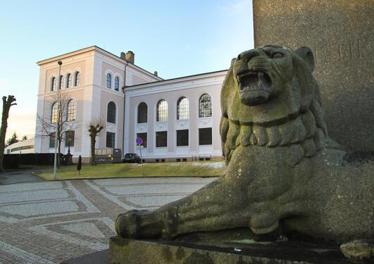Universitetsmuseet, løve
