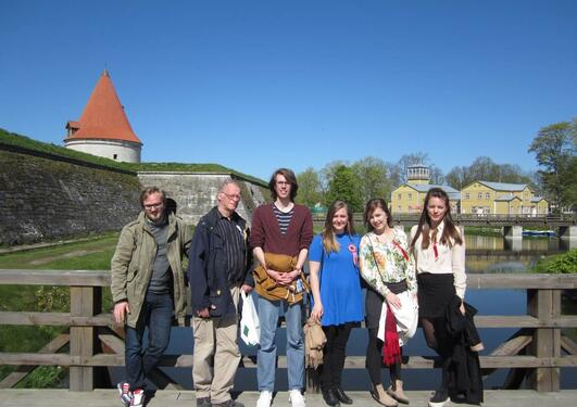 Bergen Group in Kuressaare 17.May 2014