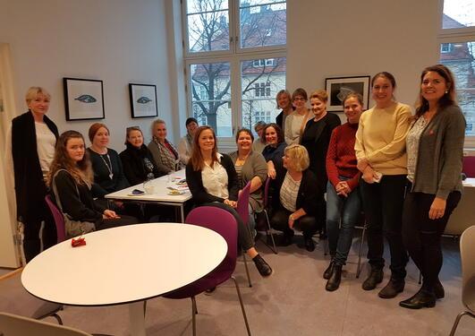 Møte mellom de odontologiske administrasjoner fra Oslo og Bergen
