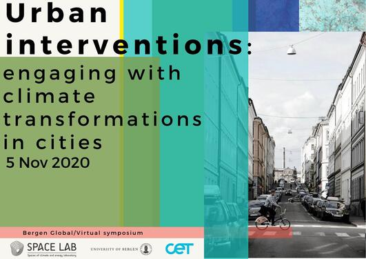 Urban interventions November 5th