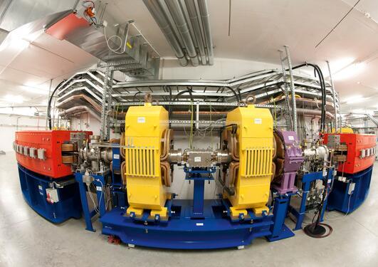 Bilde av en partikkelstrålegererator