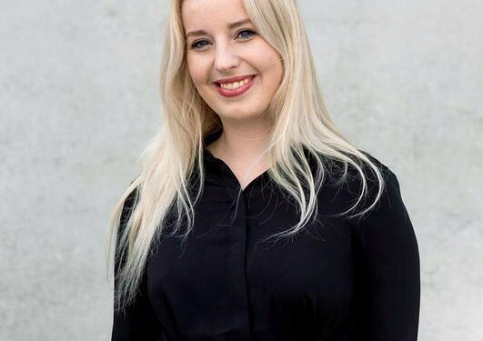 Studentpraktikant Hanne Nesbø