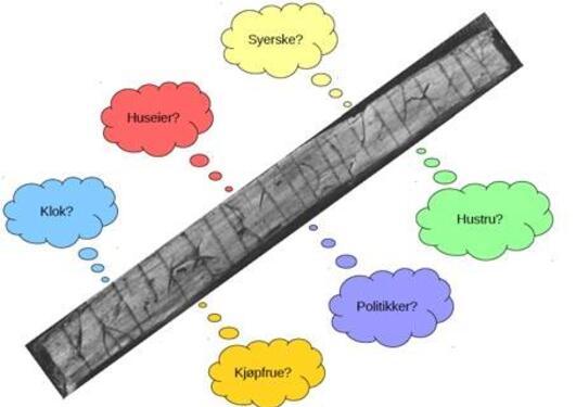 Bilde av en runepinne
