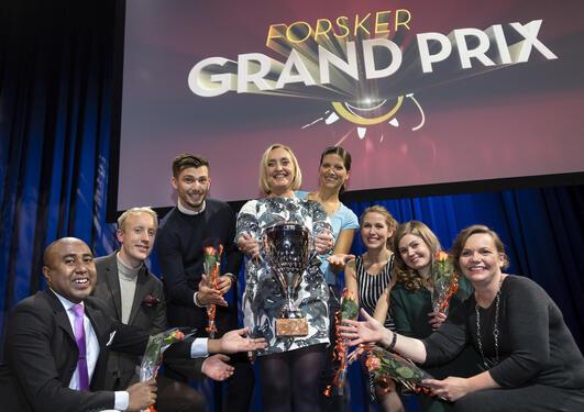 Forsker grand prix vinner 2015, Cecilie G. Gjerde