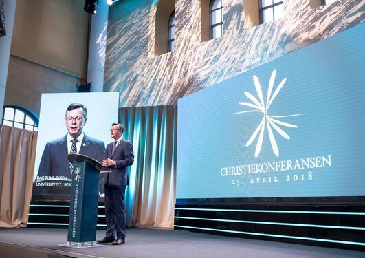 Dag Rune Olsen, rektor, Christiekonferansen 2018