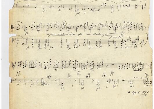 Vandreslåt fra Lyriske stykker, opus 47, nr. 6 av Edvard Grieg