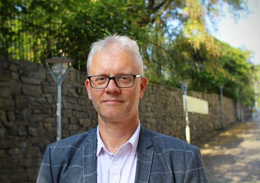 Marin dekan Nils Gunnar Kvamstø