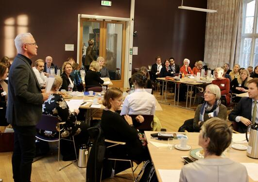 Tranvåg speak at top meeting