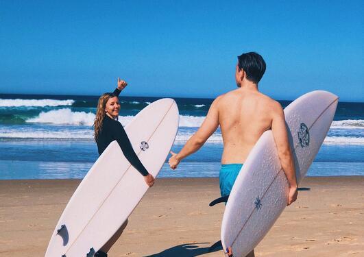 Surfing i Australia