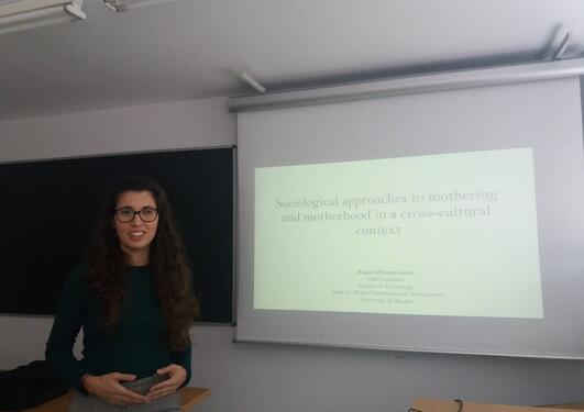 Seminar on Motherhood and Mothering by Raquel Herrero-Arias