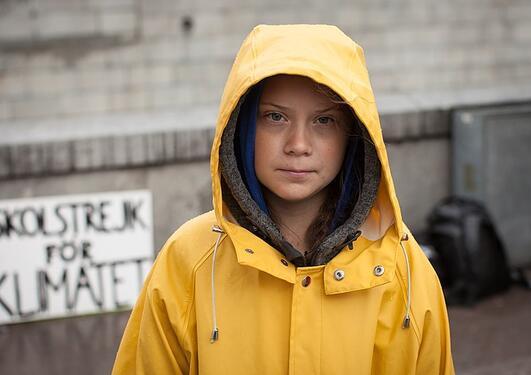 Greta Thunberg, portrett