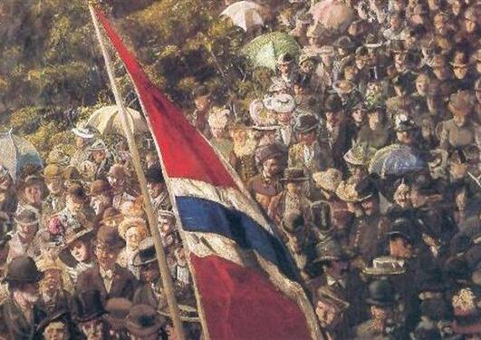"Christian Krohg: ""17. mai 1893"""