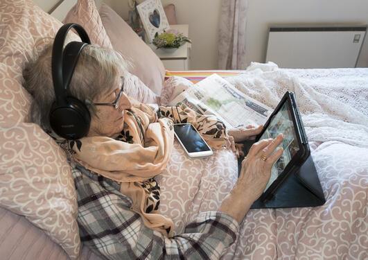 iPad-damen